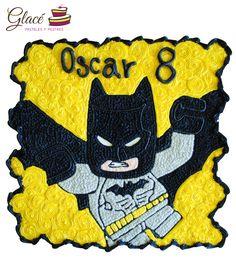 Lego Batman. Pastel de quequitos.