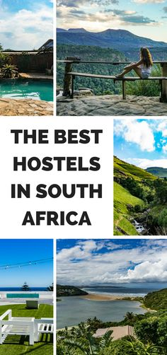 The Best Hostels in South Africa