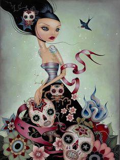 Skulls:  #Skulls, Caia Koopman.