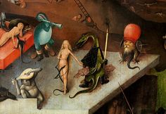 Delicious demons, nightmare creatures, and atrocious angels; no painter has come close to the fantastical schemes of Hieronymus Bosch. Great Works Of Art, Fantastic Art, Taschen Books, Hieronymus Bosch Paintings, Garden Of Earthly Delights, Renaissance Artists, Neon Aesthetic, Catholic Art, Medieval Art