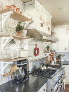 DIY Farmhouse Kitchen Remodel