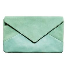 seafoam clutch - just love this colour!  Maybe I should do a board just on this colour - celadon!