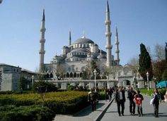 Arsitektur hari ini and future: Mesjid Biru (Blue Mosque) Istambul, Turki