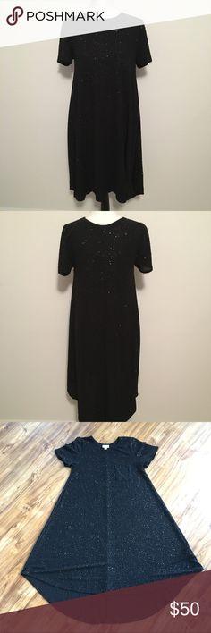 Elegant Carly High Low Dress in Black Size Small Elegant Carly High Low Dress in Black Size Small LuLaRoe Dresses High Low