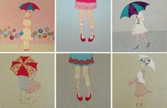 Cute+Canvas+Painting+Ideas | ... textile canvas using free hand machinery embroidery - oh my so cute