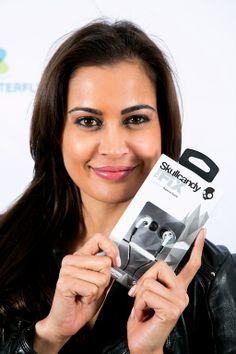 #SHASHI #NAIDOO #Skullcandy #headphones #fix #celebritygiftingsa www.celebritygifting.co.za
