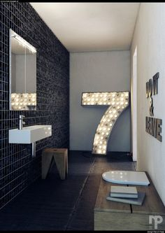 "amerikandream:    justthedesign:    Bathroom Design By Marcin Pajak    ""Do it & leave"""