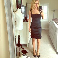 Bebe little black dress Bebe little black dress. Perfect LBD!!! bebe Dresses Mini