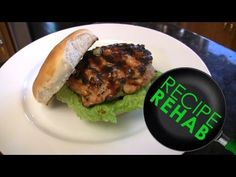 CookingForDads - Chicken Burgers | Recipe Rehab Talent Search Healthy Meals, Healthy Food, Healthy Recipes, Wrap Sandwiches, Burger Recipes, Everyday Food, Food For Thought, Burgers, Cooking Tips