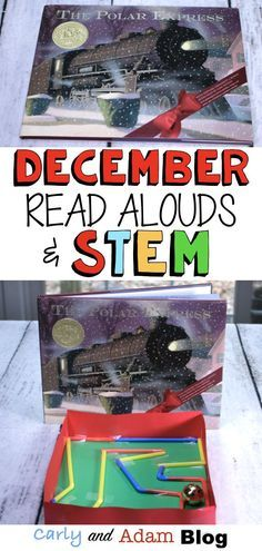 December STEM Read Alouds  — Carly and Adam