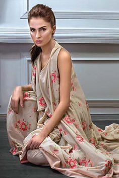 Embroidered Eid Collection 2012 by Bareeze