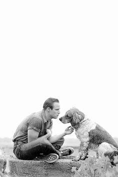 Marlon Brando, photographed by Art Shay, circa...