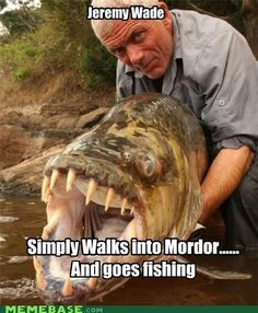 This guy... #yourboatingbuddy #rivermonsters