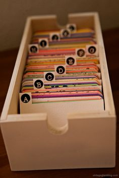 Maybe use this instead of an address book or making something like this instead of a guest book for wedding