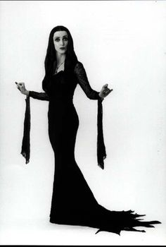 Ellie Harvie as Morticia Addams - The New Addams Family