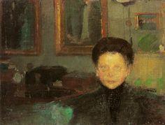 studium - Olga Boznańska