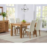 Yateley Oak Dining Table with Albany Chairs - Dining for 6 - Dining Sets - Oak Dining Room Furniture Oak Extending Dining Table, Buy Dining Table, Simple Dining Table, Oak Dining Room, Extendable Dining Table, Dining Room Design, Dining Area, Kitchen Tables, Kitchen Ideas