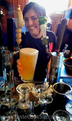 K Restaurant serves craft beers on tap