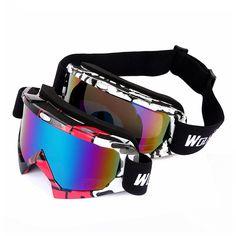 WOSAWE BYJ-017 UV400 Protection Ski Goggles Sports Snowboarding Skate Snow Sunglasses Eyewear