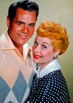 Desi and Lucille -- I Love Lucy Old Hollywood Stars, Classic Hollywood, Hollywood Life, I Love Lucy Show, Lucille Ball Desi Arnaz, Lucy And Ricky, Gorgeous Redhead, I Love To Laugh, Golden Girls