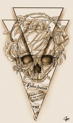 Design #90 by Giulio Rossi | Hip - Dark - Sketch Tattoo Design Needed!