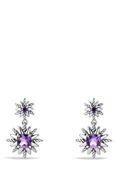 Women's David Yurman 'Starburst' Earrings - Amethyst