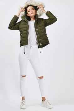 ce6416264c136 PETITE Puffer Jacket - Jackets   Coats - Clothing