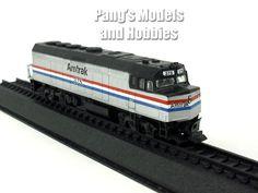 Electro-Motive Diesel F40PH Amtrak Train Locomotive 1976 1/160 N Scale Diecast Metal Model by Amercom
