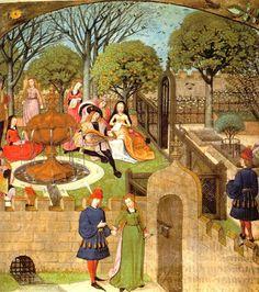 Mariac: El jardin en la Edad Media