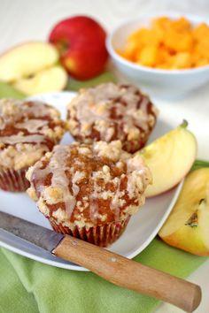 Apfel-Kürbis-Muffins mit extra viel Zimt = Herbst pur