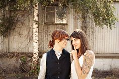 Gallery: 50 Adorable Lesbian Couples Having Adorable Lesbian Weddings | Autostraddle