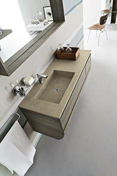 Bagno Joy con finitura rovere corda http://www.cerasa.it/it_IT/bagni/moderno/joy/Cerasa_bagno_Joy_34_35