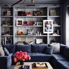 Top Interior Designers: Aman & Meeks Cozy Family Rooms, Home And Family, Cosy Night In, Design Salon, Top Interior Designers, Step Inside, Room Paint, Hallway Paint, Architectural Digest