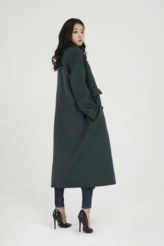 Handmade maxi coat
