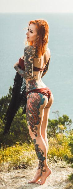 Girl with Tattoos #beautytatoos