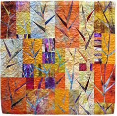 Image result for liz kuny quilted art