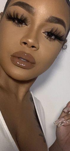 Makeup looks – Lush Makeup Ideas Glam Makeup Look, Glamour Makeup, Makeup Eye Looks, Black Girl Makeup, Natural Makeup Looks, Cute Makeup, Girls Makeup, Pretty Makeup, Beauty Makeup