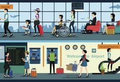 KLM lançou Spencer, um robô que circula pelo aeroporto Schiphol, em Amsterdam, orientando passageiros em conexão. O diferencial de Spencer, segundo a companhia, é que ele também estará apto a reconhecer emoções, levar em conta comportamentos de grupo e responder de maneira proativa a situações inesperadas, como um bom guia.