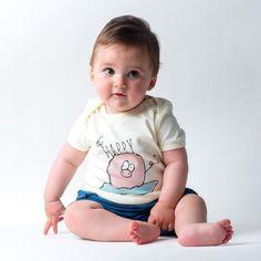 Camiseta yosiquesera para bebé - be happy #yosíquesé #camisetaconestilo #behappy#diseñosconalma #camisetabebé #algodónorgánico