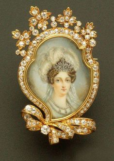 Brooch of The Duchesse d'Angouleme, the only surviving child of Louis XVI and Marie Antoinette.