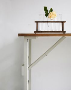 This vintage trestle table is made to a traditional design using reclaimed timber. The gorgeous timber tops are sanded back and made good while the legs are painted in chalk paint. Creative Desks, Beautiful Furniture, Traditional Design, Reclaimed Timber, Handmade Table, Vintage Inspired Design, Trestles, Wooden Tables, Trestle Table