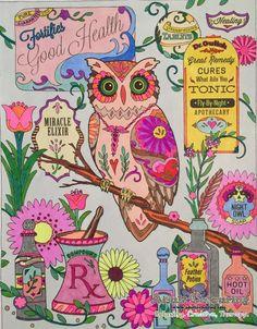 Creative Haven Owls 15