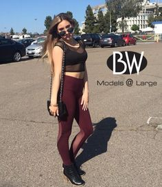 Shout out to Sarina for wearing our Crop Faux Bra (BWP9015) as street wear!!