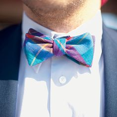 I just learned how to tie a Bow Tie.  So cute.