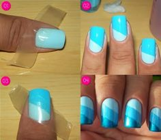 DIY : Simple Nail Manicure Technique | DIY & Crafts Tutorials  www.saturnostore.com Nails B it