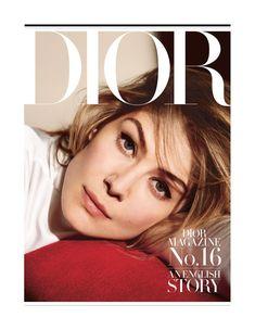 Розамунд Пайк на обложке Dior Magazine  fashionphotographer   fashionphotography  trendy  womensfashion  fashiondesigner d2ee89ad69f