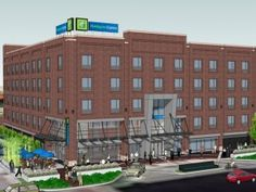 InterContinental Hotels, NewcrestImage Team Up for Bricktown Hotel