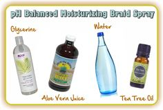 Two Surprisingly Easy But Effective Homemade Braid Sprays