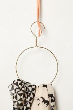 i need this. and want this. orbital scarf hanger! how amazing is this?  #anthropologie