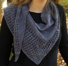 Free Knitting Pattern for Charmayne Beaded Lace Shawl Lace Knitting, Crochet Shawl, Crochet Pattern, Knitted Shawls, Ravelry Crochet, Crochet Edgings, Finger Knitting, Knit Cowl, Crochet Granny